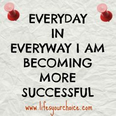 An affirmation. #success #affirmation #successful #believe