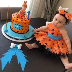 Fancy Flower Girl Dresses Ball Gowns Costumes by PanCostume Baby First Birthday, First Birthday Parties, Girl Birthday, Fancy Costumes, Toddler Costumes, Flintstones Costume, Pebbles Flintstone, Halloween Kostüm, Halloween Birthday