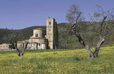 The incredible Abbey of Sant'Antimo in Val d'Orcia