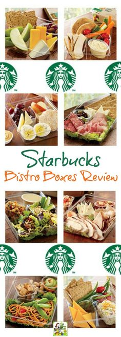 Starbucks Bistro Boxes Review. Includes a breakdown of Starbucks bistro box nutrition. Lunch Meal Prep, Healthy Meal Prep, Healthy Snacks, Healthy Eating, Healthy Recipes, Healthy Dinners, Starbucks Bistro Box, Starbucks Lunch, Healthy Starbucks Food
