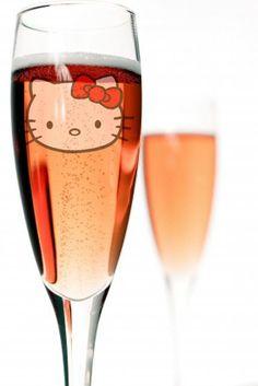 hello kitty champagne