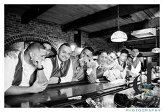 Groom and groomsmen Bar Shot @dolcephotos. www.dolcephotos.com