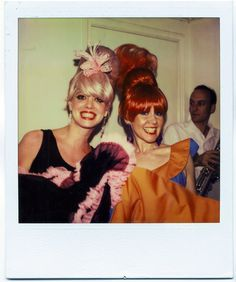 Cindy Wilson + Kate Pierson