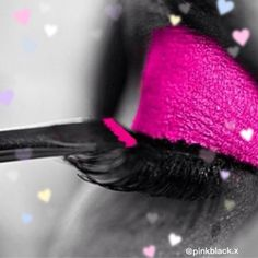 PINK BLACK  #eye #eyeshadow I love the colors Black and Pink #girls #black #pink #oreo #deco #art #beauty #makeup #nice #cute #model #love #friend #bff #fashion #colors #tag #look #pinkblack  #makeup #makeupthings #lipstick #nails #ibiza #gipsy #fantasy #colorfull #hairstyle #creative by pinkblack.x