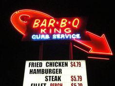 BAR-B-Q KING / Charlotte, NC | Restaurants | Pinterest | Charlotte ...