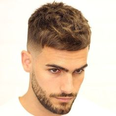 Haircut Men Fade Short Crew Cuts 46 New Ideas Haircut Men Fade Short Crew Cuts 46 neue Ideen # Mens Medium Length Hairstyles, Trendy Haircuts, Hairstyles Haircuts, Haircuts For Men, Crew Cuts, Haircut Names For Men, Bart Styles, Short Hair Cuts, Short Hair Styles