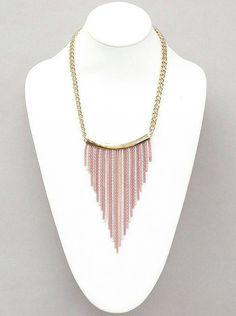 Mira este artículo en mi tienda de Etsy: https://www.etsy.com/listing/229999910/stylishyetexoticfringe-necklace