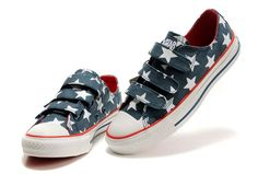 636f3ced4c16 Converse-American-US-Flag-Velcro-Blue-White-Canvas-Red-Inside-Low-Top-Shoes