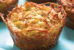lekkere aardappel/uien cakejes