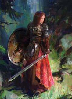 ArtStation - Warrior, John Wallin Liberto