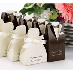 Occasions to Blog: Wedding Accessories from Occasions In Print (Accessories Link - http://occasionsinprint.carlsoncraft.com/Celebration-Supplies/Favors/ZB-ZBK1554-Ivory-Gown-Favor-Boxes.pro)