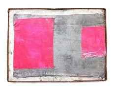 Michiel Ceulers - Oil and spray paint on canvas, artist cardboard frame - 17 x 22 in x cm) Collages, Hard Edge Painting, Spray Paint On Canvas, Contemporary Abstract Art, Art Plastique, Art Fair, Art World, Diy Art, Art Inspo