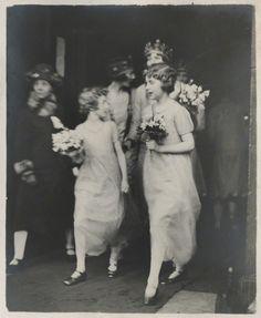 Julian Morrells Bridesmaids, 1928 Wedding