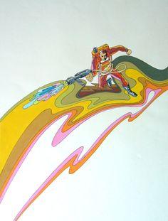 70s Sci-Fi Art: Mike Hinge