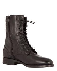ad23752a6d55b Boots matelassées   Chaussures   Comptoir des Cotonniers Chaussure Femme  Escarpin, Escarpins Cuir, Bottines