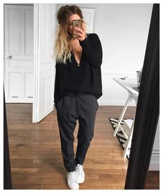 Full outfit from Looks Street Style, Looks Style, Casual Looks, Mode Outfits, Fall Outfits, Casual Outfits, Fashion Outfits, Unisex Outfits, Simple Outfits