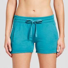 Women's Sleep Shorts - Laguna Teal XS, Green