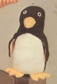 Penguin from Beehive Bazaar, c. 1975 Not all penguins spent the Sixties hard at work in the fish-flinging factories . Plenty of penguin hi...