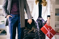 Gal Meets Glam Holiday Couples Look from Express