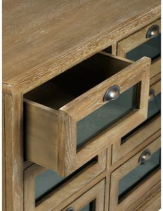 Kitchen Drawer Fronts glass-front drawers usually filled with pasta and dry beans hold