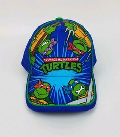 6aae76dd3 NWT Nickelodeon TMNT Teenage Mutant Ninja Turtles Children's Kids Snap Back  Hat #fashion #clothing #shoes #accessories #kidsclothingshoesaccs ...