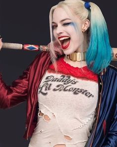 New #SuicideSquad Character Posters Released! Harley Quinn poster 10/10