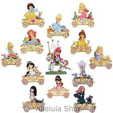 SET of 13 Precious Moments Disney Birthday Parade Princess Figurines Train Ages