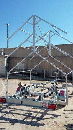 Nova estructura per 6 laser o optimist