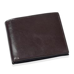 the Jewellery Channel Chocolate Colour Genuine Leather Men's Wallet | Bag