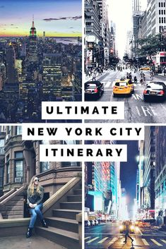 Planning a trip to New York? This New York Itinerary is the perfect long weekend guide for 3 days in New York City! The travel guide is a great resource for visitors that have been to New York City before and have already seen the Statue of Liberty, Ellis New York Travel Guide, New York City Travel, New York City Trip, Ellis Island, Weekend In Nyc, Long Weekend, Central Park, Empire State Building, Nyc Itinerary