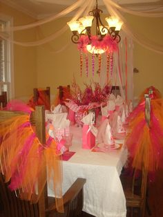 Bingo!! Every girl gets a tutu!!!!!!! Future party for my princess!