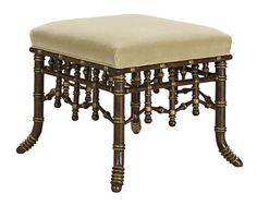 Hickory Chair - Faux Bamboo Bench - 6318-88