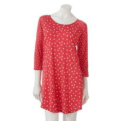 Kohl's Cares LC Lauren Conrad Polka-Dot Sleep Shirt