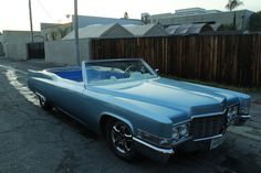 Carpool DeVille, A 1969 Cadillac Convertible Modified to Create a Mobile Racing Hot Tub