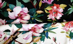 watercolor for Silk by Lola SR