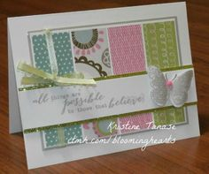 Lollydoodle ctmh card spring