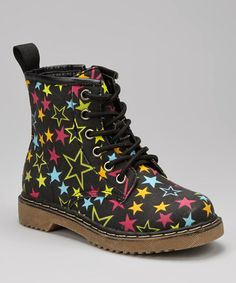 Look at this #zulilyfind! Black Star Boot #zulilyfinds