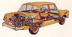 Motor a prevodovka vzadu znamenali zníženie hmotnosti aj ceny vozidla. Ale tiež väčšiu hlučnosť.
