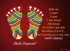 Diwali Wish SMS Quotes Shayari in Hindi to wish with Greeting card text