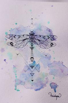 My Modernist Dragonfly on Behance