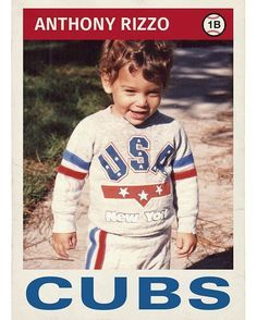 If a picture of a young doesn't cheer you up, we can't help you. Chicago Cubs Fans, Chicago Cubs World Series, Chicago Cubs Baseball, Cubs Players, Cubs Team, Cubs Win, Chicgo Cubs, Cubs Pictures, Cub Sport