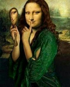 38 Ideas for funny art history mona lisa Mona Lisa Smile, Chef D Oeuvre, Oeuvre D'art, Mona Lisa Secrets, Lisa Gherardini, La Madone, Mona Lisa Parody, Many Faces, Strong Women