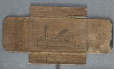 Boat on Cigarette Packet |