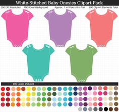 Rainbow Baby, Elements Of Art, Baby Shower Printables, Rainbow Colors, Onesies, Packing, Clip Art, Bag Packaging, Rainbow Colours