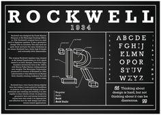 rockwell font poster - Szukaj w Google