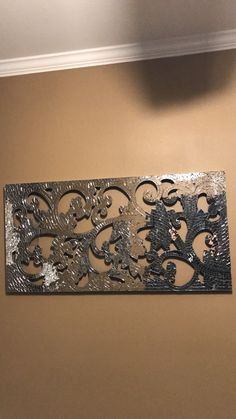 Ornate Hand Carved Wood Cutwork Is Overlaid With A Mosaic
