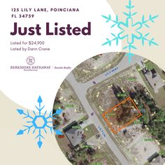 #vacantland #acreage #land #buyland #theyarentmakeingitanymore #poinciana #florida #forsaleinpoinciana #countrysetting #holidaylistings #forsaleoverchristmas #centralfloridarealtor #snowflakes #buildit #yourdreamhomeawaits Vacant Land, How To Buy Land, Find Homes For Sale, Next At Home, Investment Property, Snowflakes, The Neighbourhood, Finding Yourself, Florida