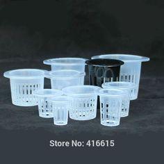 Mesh Pot Net Basket Hydroponic Aeroponic