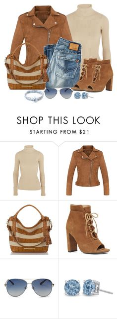 """""""Untitled #1291"""" by gallant81 ❤ liked on Polyvore featuring Jacquemus, Brahmin, Nine West, Valentino and Anchor & Crew"""