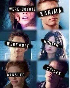 Teen Wolf • Werwcoyote •Kanima • Werewolf • Hunters • Banshee • Stiles ♥